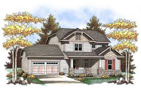 two story craftsman with spacious front porch 89660ah