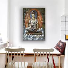 Home Decor Buddha by Compare Prices On Buddha Oil Painting Online Shopping Buy Low