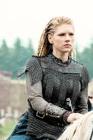lagertha lothbrok hair braided good closeup of leather mail armour lagertha lothbok from hist