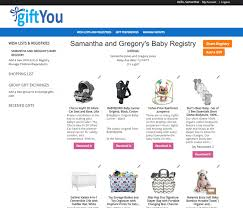 stores with gift registry giftyou baby registry