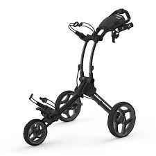 rovic rv1c black golf push cart