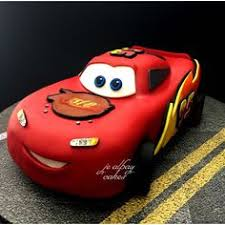 3d lightning mcqueen cars cake tutorial with how to video and