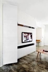 Mexican Modernist Wall Unit With White Tv Unit Foter