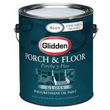 glidden porch and floor 1 gal oil gloss interior and exterior