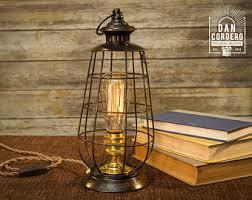 Table Lamp Brass Bulb Holder Glass Edison Bulb Table Lamp Bronze Desk Lamp