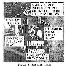 79 450sl fuel pump relay location mercedes benz forum