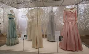 princess diana u0027s dresses go on display at new kensington palace
