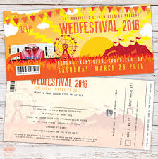 coachella wedfestival festival wedding invitations http www