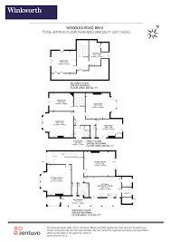 floor plan area calculator 6 bedroom property for sale in woodlea road worthing west sussex