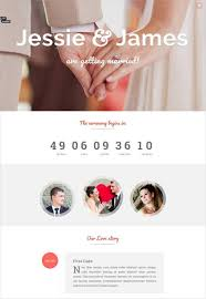 Marriage Invitation Websites 37 Free Wedding Website Themes U0026 Templates Free U0026 Premium Templates