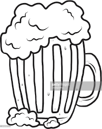beer vector mug with beer vector art getty images