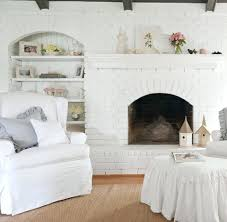 painted cottage chic shabby pink fireplace mantle white fire