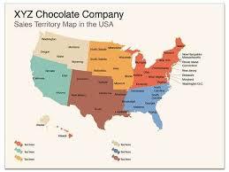 sales territory usa map apple keynote map tem
