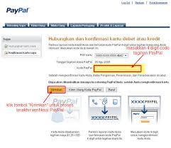 cara membuat paypal online langkah demi langkah melakukan verifikasi paypal