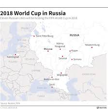 russia world cup cities map fifa confirms russia will be stripped of 2018 world cup if