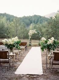outside weddings outside wedding aisle