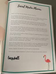 social media planner lucy hall s social media planner review by jennifer gilmour guest