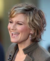 curly layered bob double chin layered short haircuts with bangs easy hairstyles for short layered