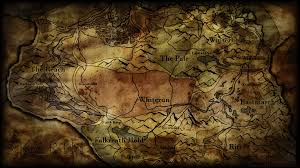 World Map Desktop Wallpaper by Skyrim Map Wallpaper Wallpapersafari