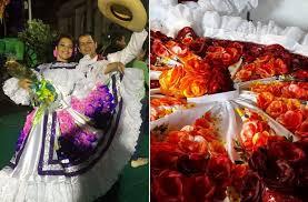 traje del sanjuanero huilense mujer y hombre para colorear las faldas de creaciones sanabria bailan sanjuanero en el exterior