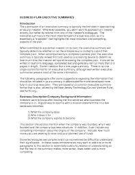 retail business plan template resume templates sample summary