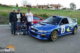 subaru gc8 rally rally legend day tribute colin mcrae in san marino italy