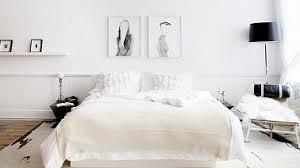 chambre moderne blanche chambre blanche moderne avec touches de noir