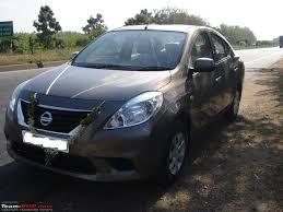 nissan sunny 2012 bronze grey nissan sunny diesel 6 month 5000 km update team bhp
