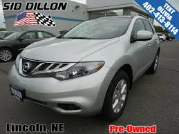 nissan murano aux port pre owned 2014 nissan murano sl suv in lincoln 4n17780a sid