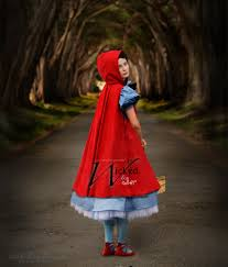 halloween costume with cape into the woods costume little red riding hood costume luxe