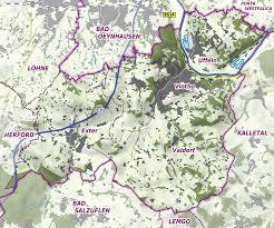 Stadtplan Bad Oeynhausen Vlotho