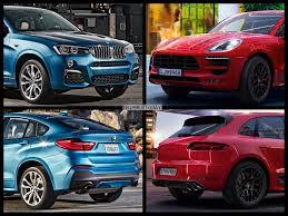 Porsche Macan Gts - photo comparison bmw x4 m40i meets gts porsche macan