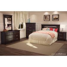 Bed Furniture With Drawers South Shore Noble 2 Drawer Nightstand Dark Mahogany Walmart Com