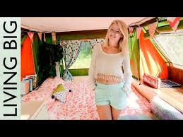 Replacement Pop Up Camper Curtains Pop Up Camper Gets Recovered Cushions And New Curtains