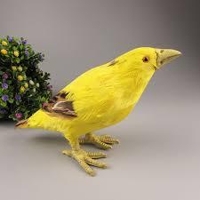 aliexpress buy simulation yellowbird 20x10cm bird fur model
