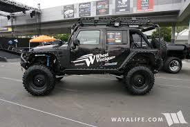 2016 black jeep wrangler unlimited sema 2016 wheel vintique jeep jk wrangler unlimited
