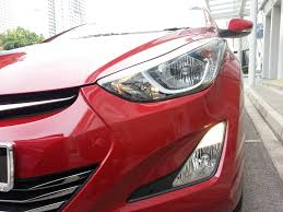 hyundai elantra daytime running lights review facelifted hyundai elantra 2014 a shutterbug s