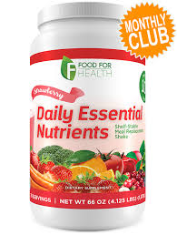 monthly food clubs food for health daily essential nutrients monthly club strawberry