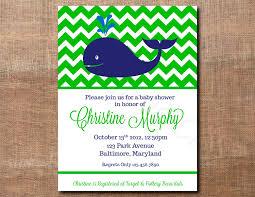 simple whale baby shower invitations ideas u2014 all invitations ideas