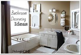 decorated bathroom ideas 7 bathroom decorating ideas master bath finding home farms