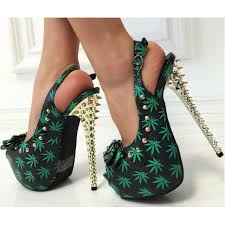 s shoes boots heels kush kouture studded peep toe sling back heels daily heels
