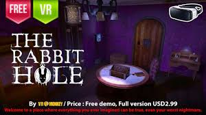 the rabbit hole vr horror puzzle escape room in a super