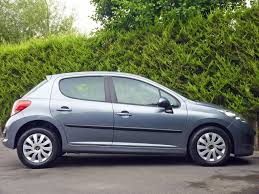 peugeot sa used cars used stone grey metallic peugeot 207for sale dorset