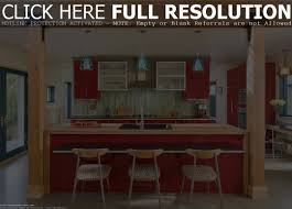 retro kitchen islands superior luxury red glisten paint wooden kitchen island remodeling