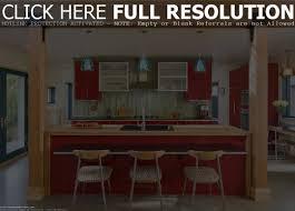island home decor superior luxury red glisten paint wooden kitchen island remodeling