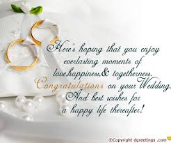 Wedding Congratulations Message 8 Best Images Of Congratulations On Your Wedding Cards