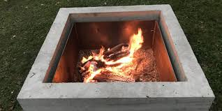 Concrete Fire Pit by Concrete Fire Pit Diy Project U2013 Quikrete Makes It Easy Ish Home