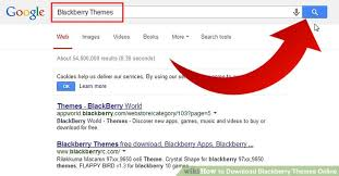 themes blackberry free download how to download blackberry themes online 3 steps with pictures