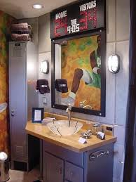 sports themed bathroom accessories home design