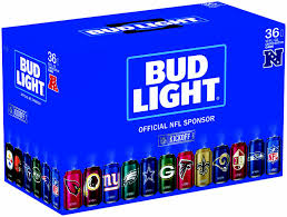 coors light 36 pack price bud light leverages nfl sponsorship to create 36 can collectible pack